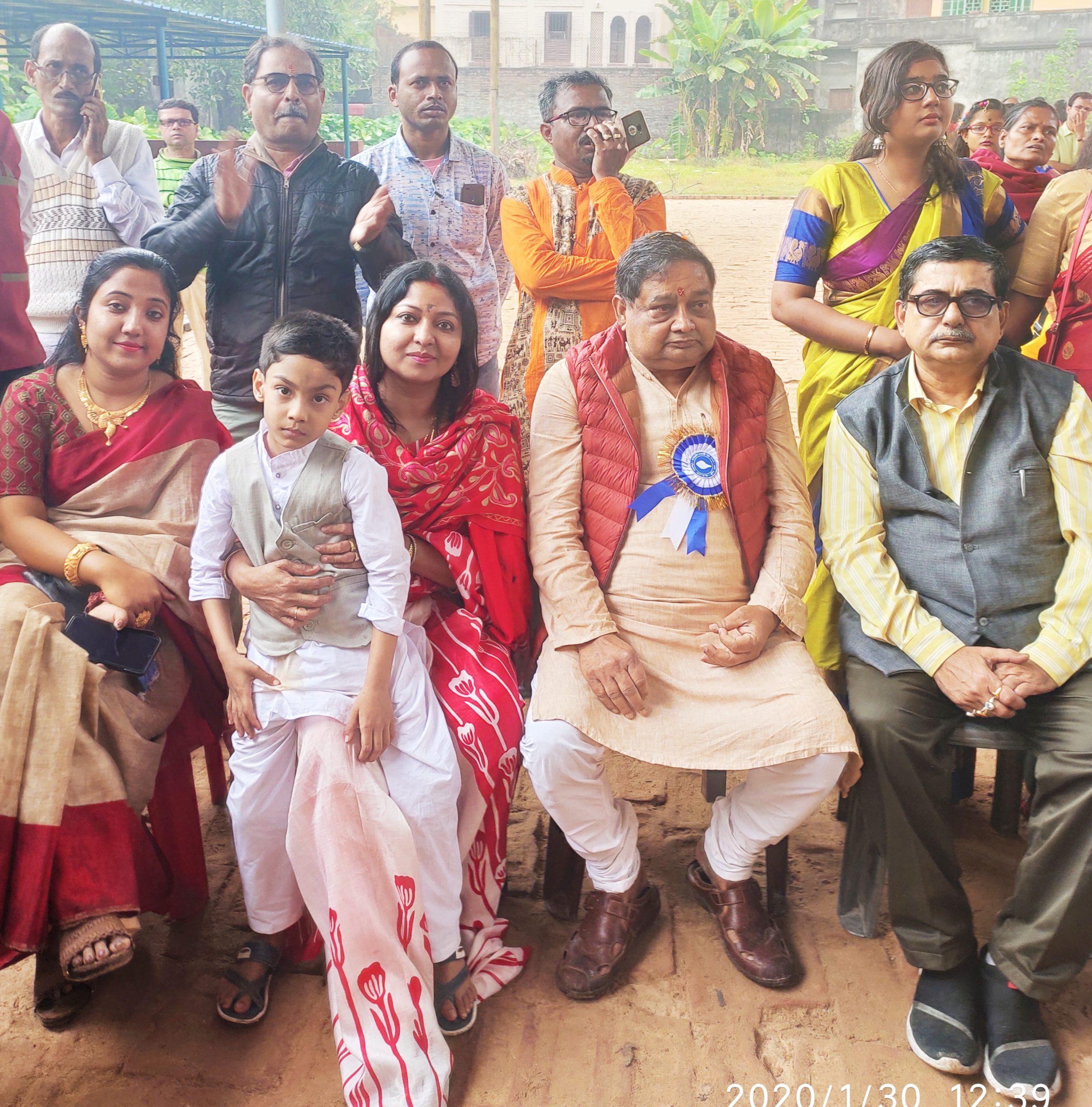 MLA Sri Sudipta Bandopadhyay gracing the occasion